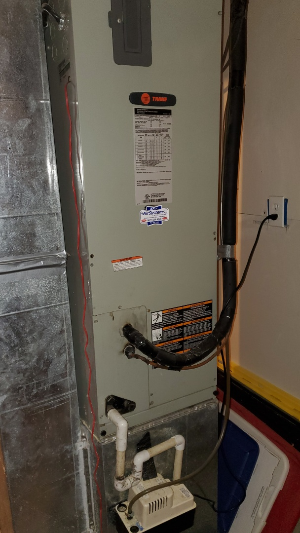 Cleveland, TN - Fall maintenance. Performed service on Trane system