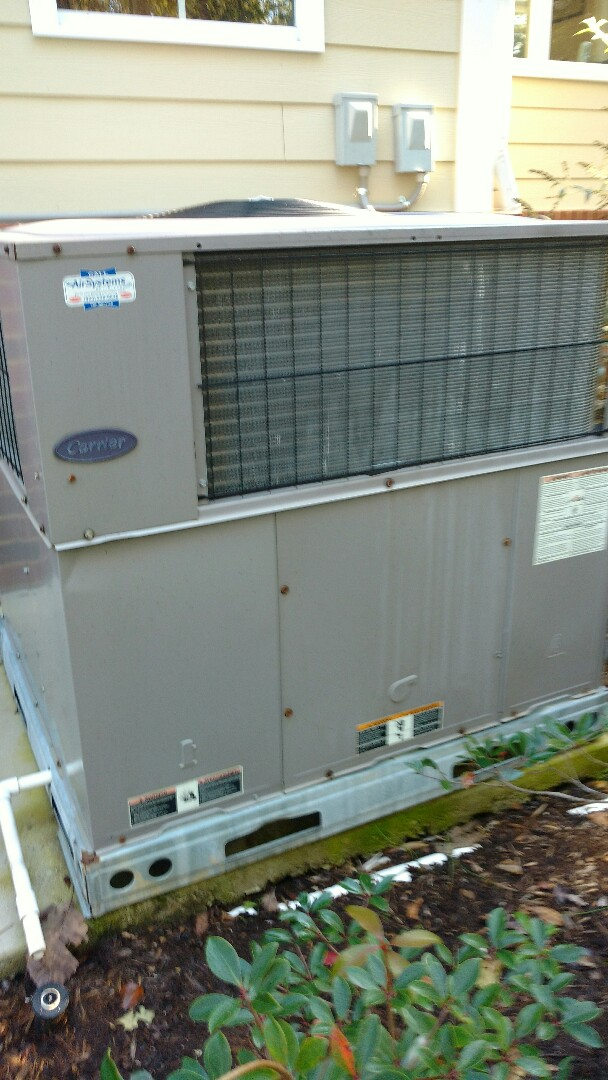 Signal Mountain, TN - Perform maintenance on carrier gas package unit.