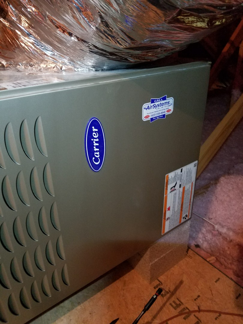 Signal Mountain, TN - Service call. Performed repair on Carrier Furnace