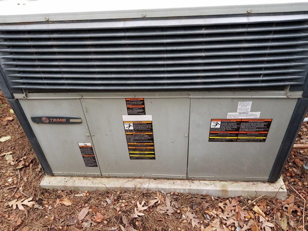 Signal Mountain, TN - Service call. Performed repair on Trane furnace.