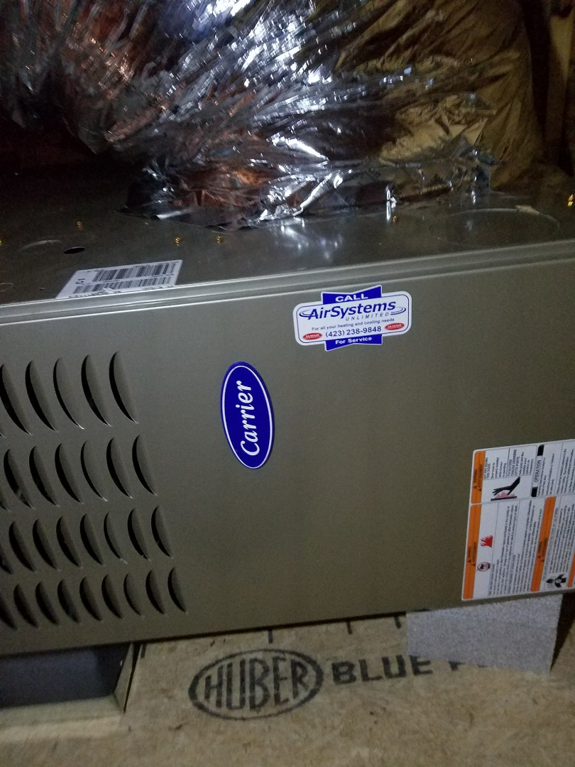 Signal Mountain, TN - Maintenance Call. Performed tune up on Carrier Furnaces