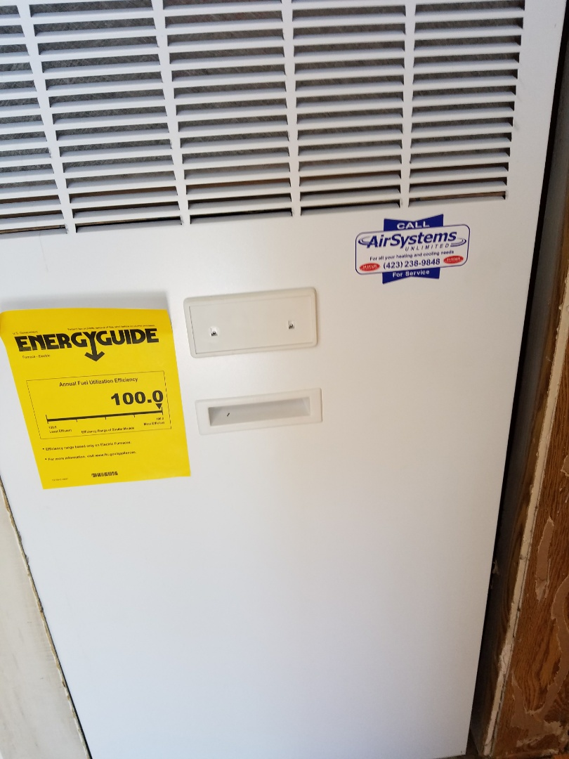 Cleveland, TN - Install call. Installed New Coleman Furnace