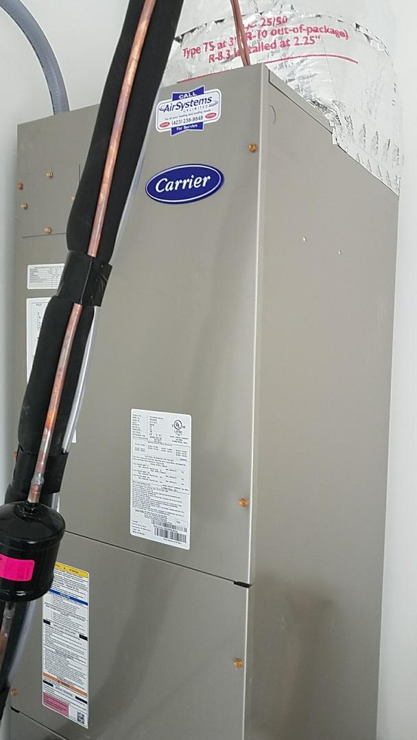 Signal Mountain, TN - Installation of new carrier heat pump