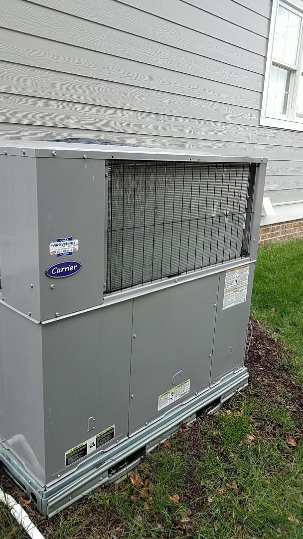 Ooltewah, TN - Preventative maintenance. Performed maintenance on carrier furnace.