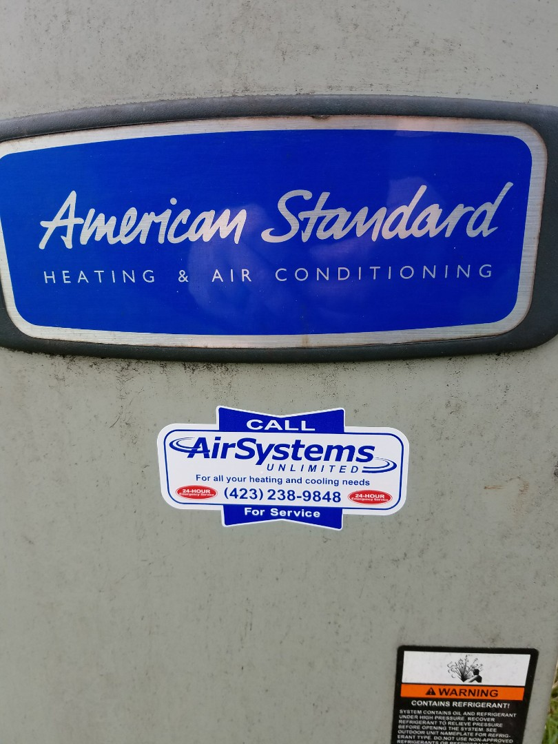 Chattanooga, TN - Service call. Performed repair on American Standard Heat Pump Package  HVAC System