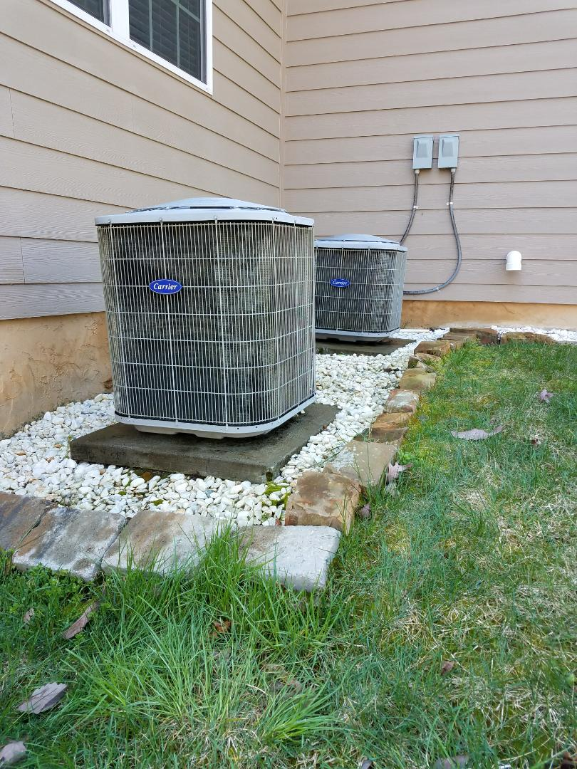 Ooltewah, TN - Preventive maintenance. Performed maintenance on carrier furnaces
