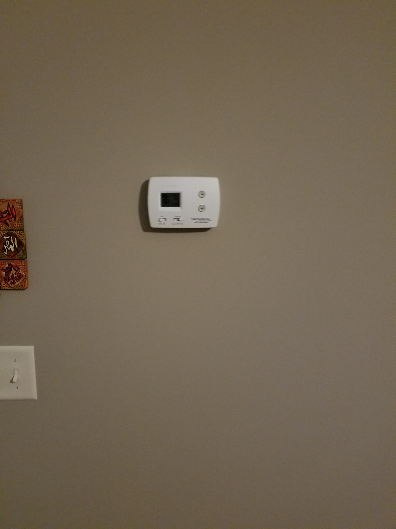 Chattanooga, TN - Service call. Installed new thermostat
