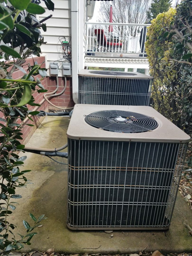 Signal Mountain, TN - Preventive maintenance. Performed maintenance on air ease hvac systems.