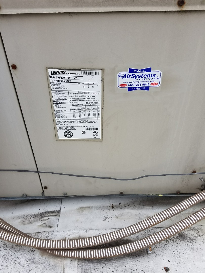 Cleveland, TN - Service call. Performed repair on Lennox Heat Pump HVAC System