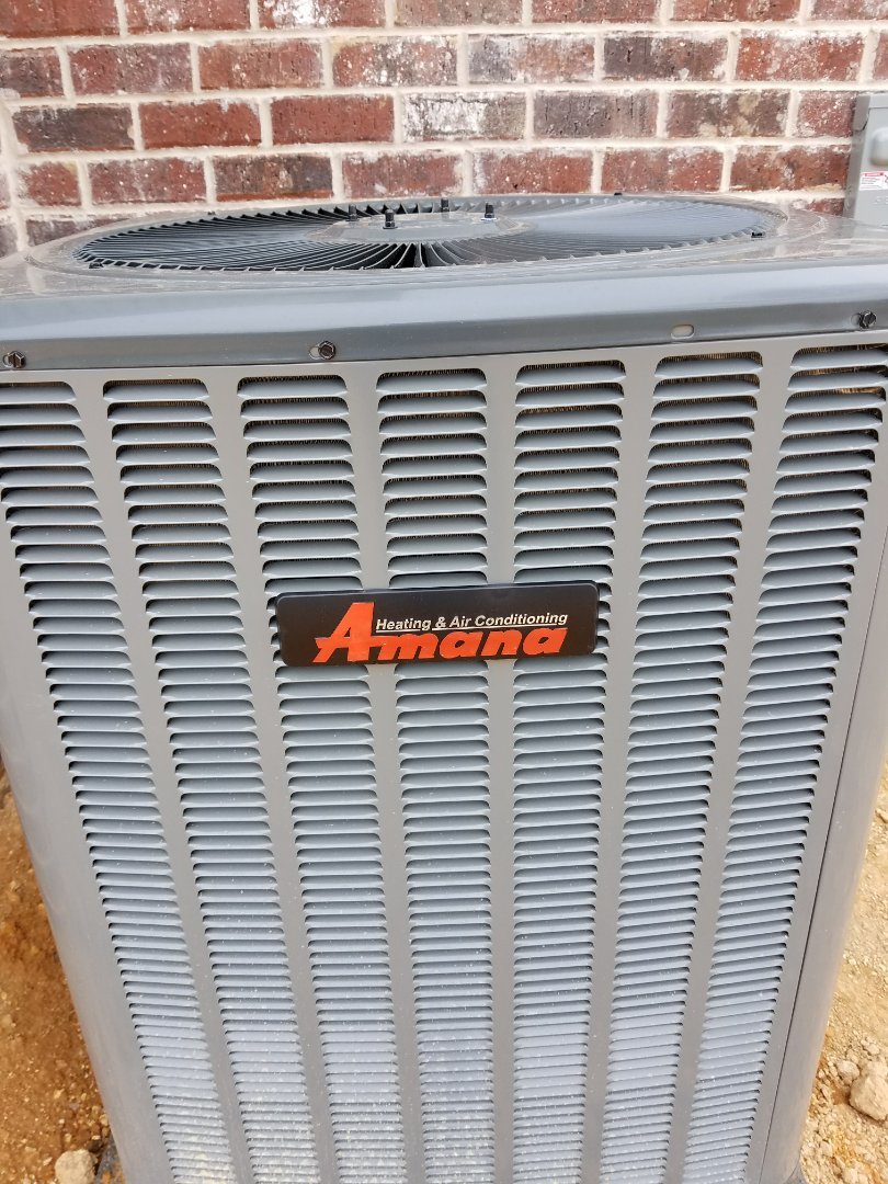 Harrison, TN - Maintenance Call. Performed tune up on Amana Heat Pump HVAC System
