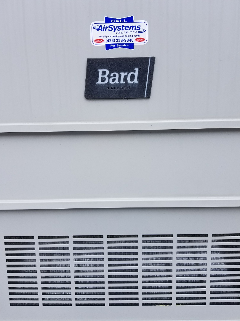 McDonald, TN - Maintenance Call. Performed tune up on two Bard Wall Mount HVAC System's