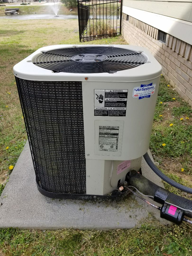 Ooltewah, TN - Service call. Performed repair on Frigidaire HVAC System