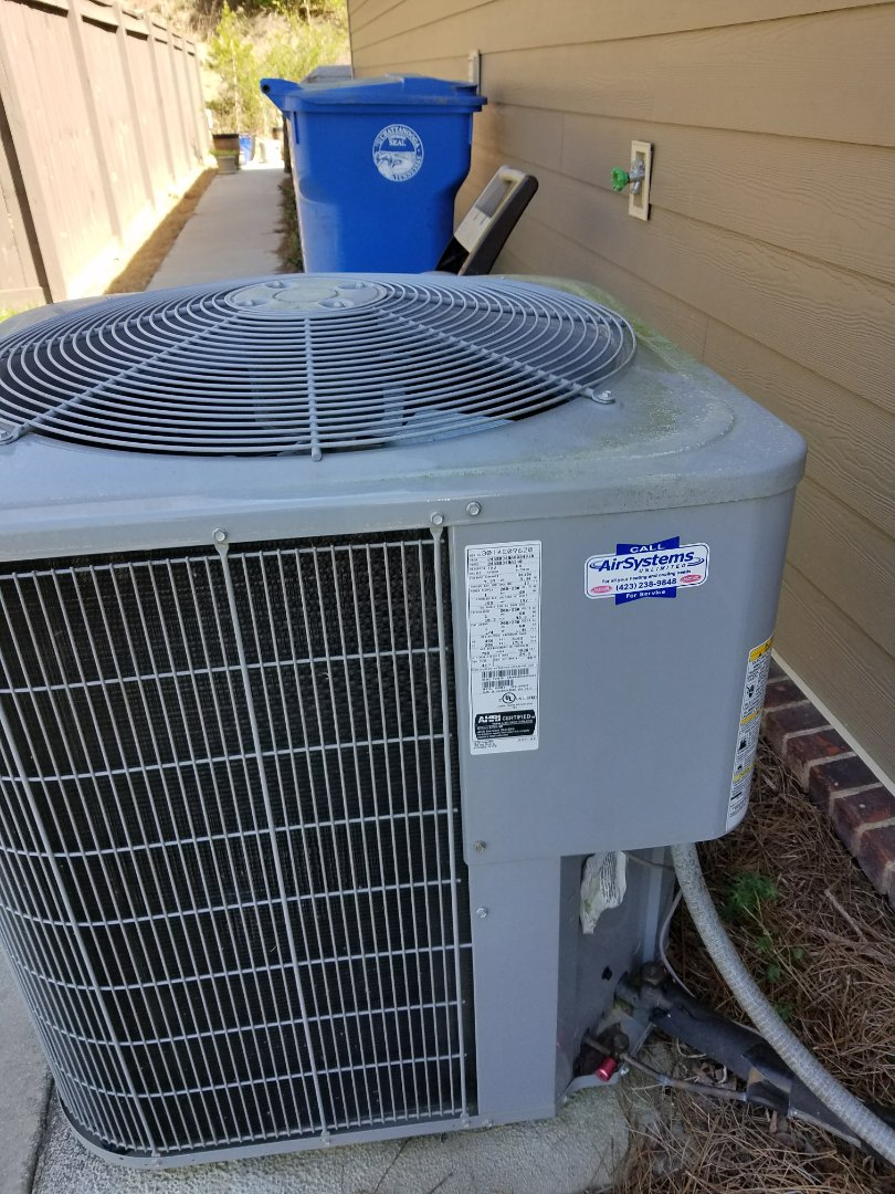 Chattanooga, TN - Service call. Performed repair on Carrier HVAC System
