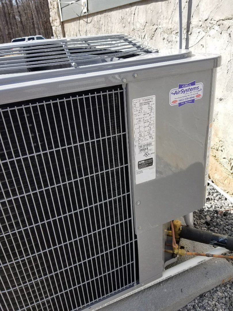 Signal Mountain, TN - Installation call. Performed install of New Carrier Heat Pump HVAC System