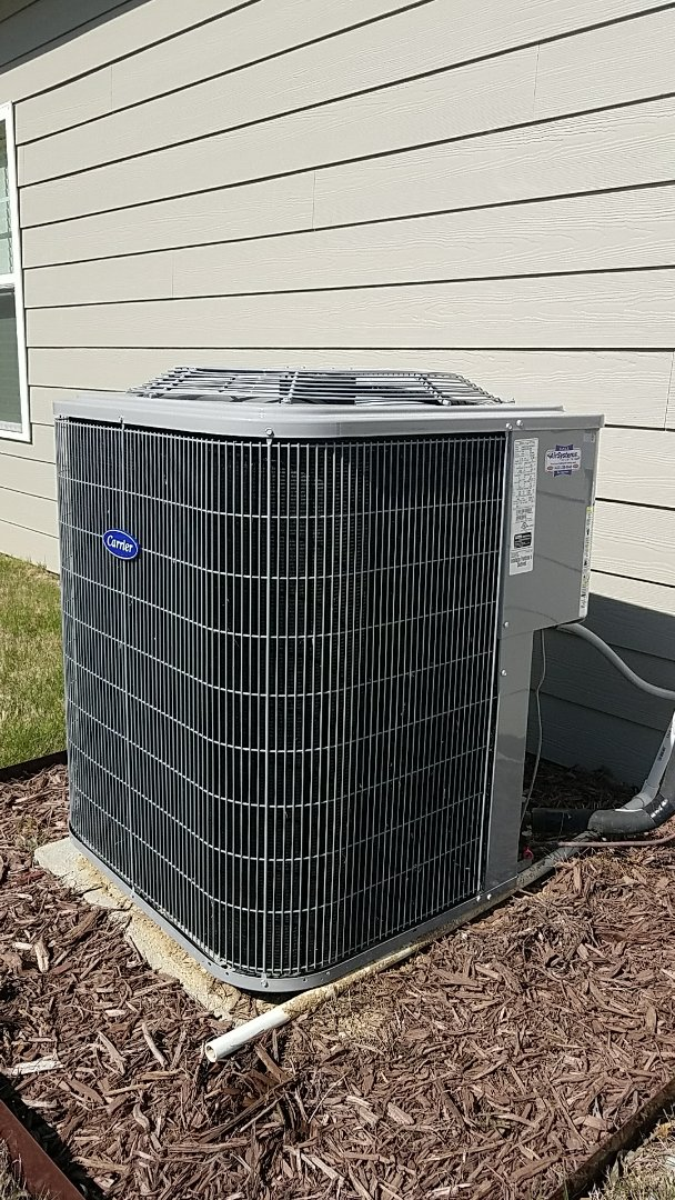 Chattanooga, TN - Service call. Performed repair on carrier heating and air system.