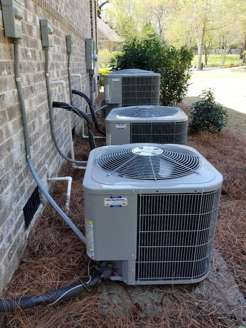 Chattanooga, TN - Maintenance Call. Performed tune up on 3 Carrier AC units