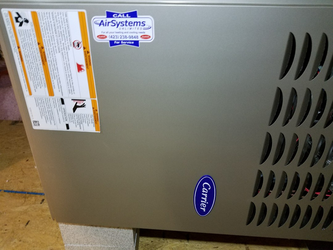 Chattanooga, TN - Service call. Performed repair on Carrier furnace.