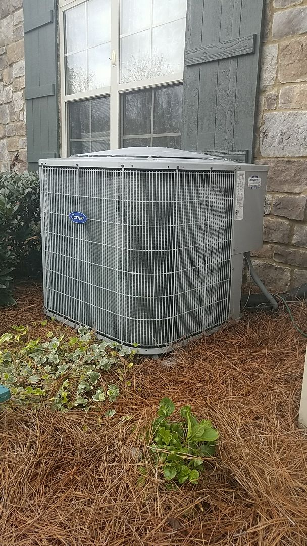 Ooltewah, TN - Preventive maintenance. Performed maintenance on carrier heating and air system.
