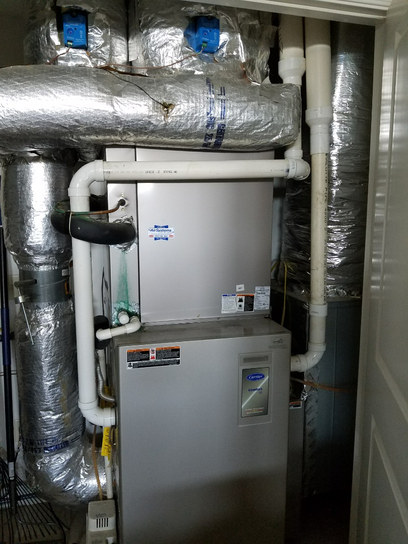 Chattanooga, TN - Maintenance Call. Performed tune up on Carrier Furnace AC