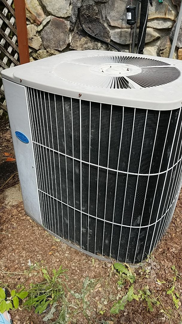 McDonald, TN - Service call. Performed repair on Carrier AC