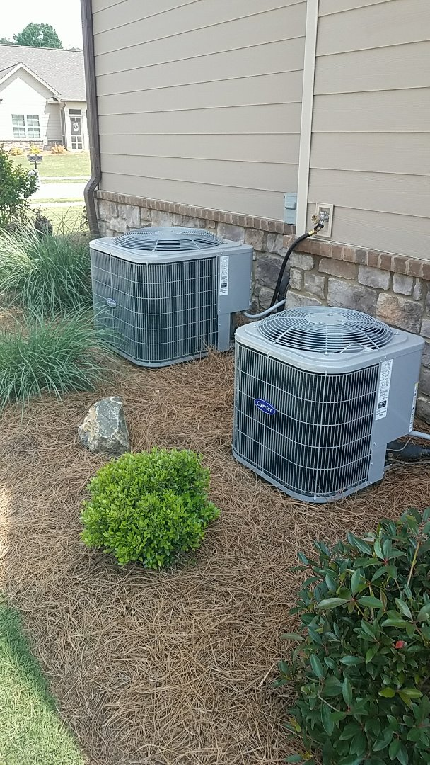 Ooltewah, TN - Service call. Performed repair on carrier heating and air system.