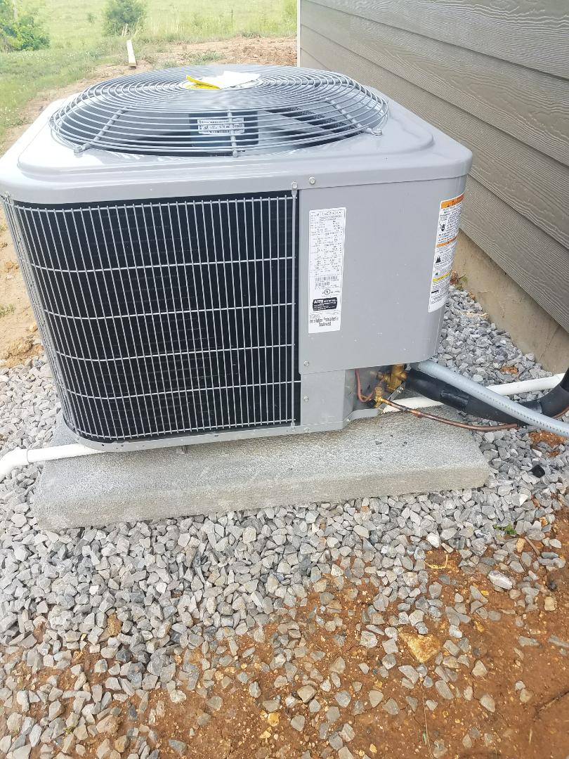 Ooltewah, TN - Installation. Performed installation of carrier hvac systems.