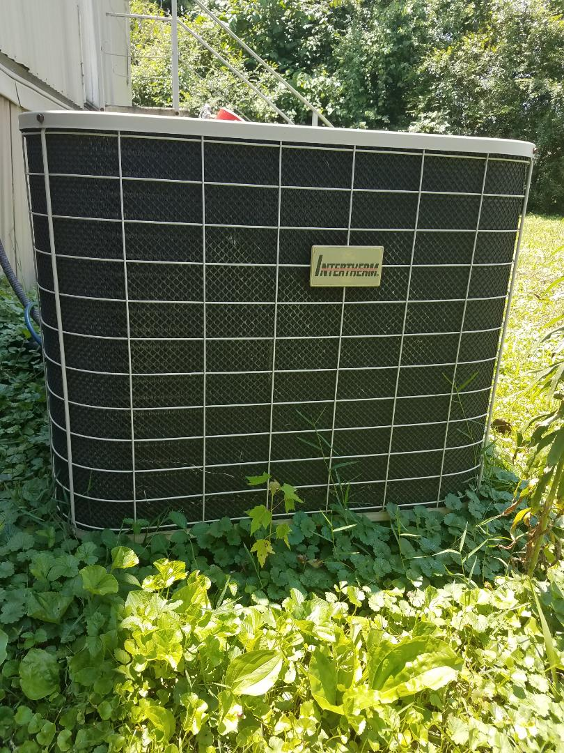 Collegedale, TN - Service call. Performed repair on Intertherm heat pump.