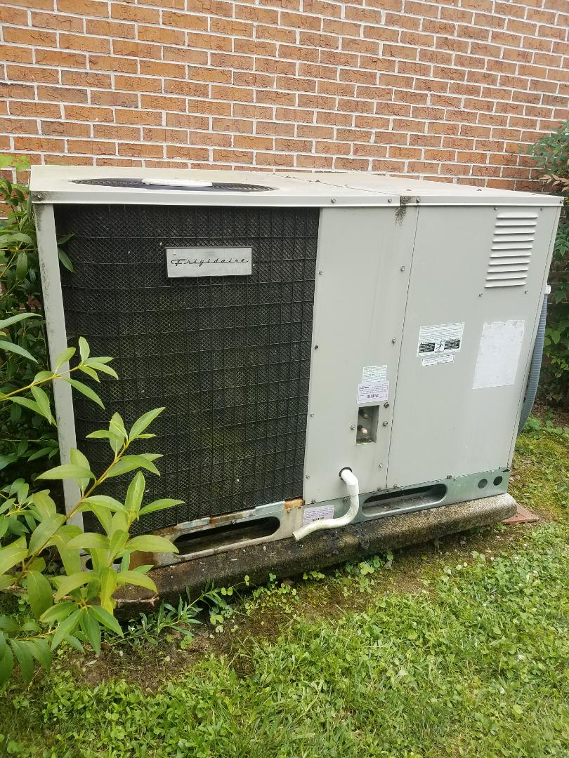 Ooltewah, TN - Service call. Performed repair on Frigidaire heating and air system.
