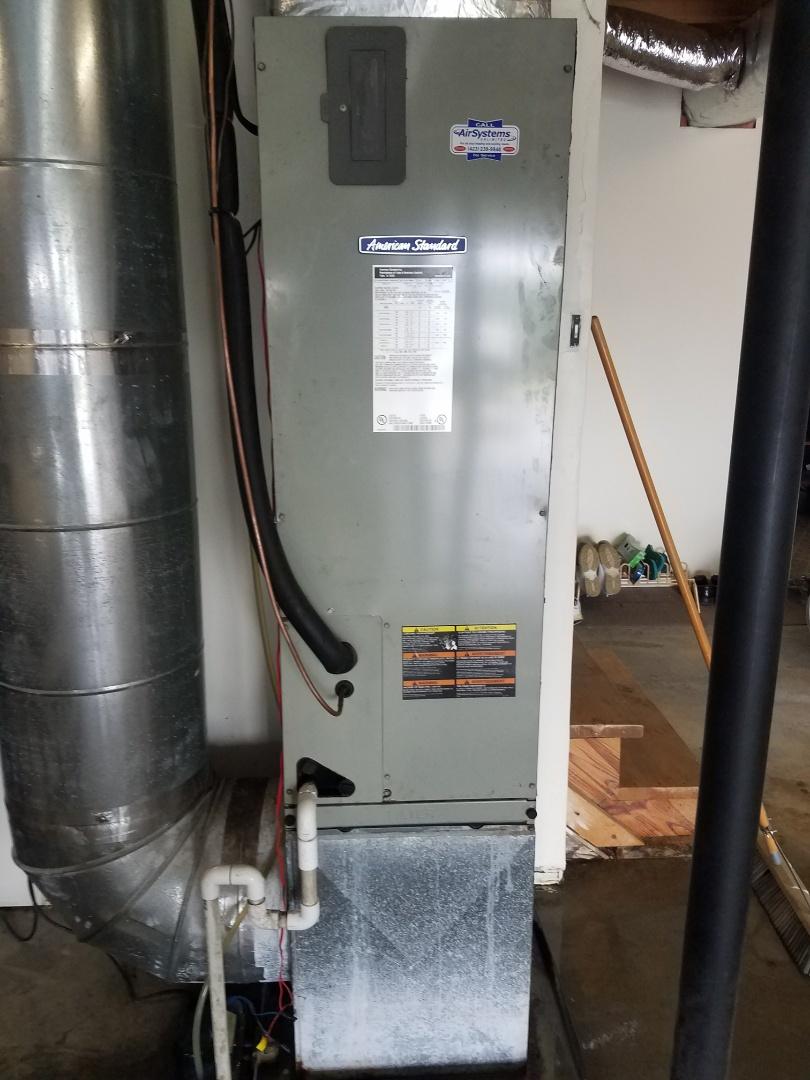Cleveland, TN - Service call. Performed repair on American Standard heat pump.
