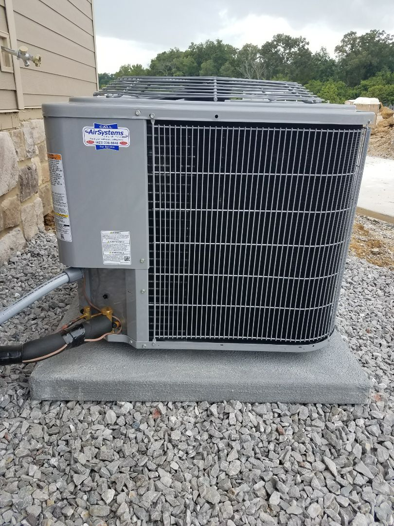 Ooltewah, TN - Installation. Performed install of carrier heating and air system.