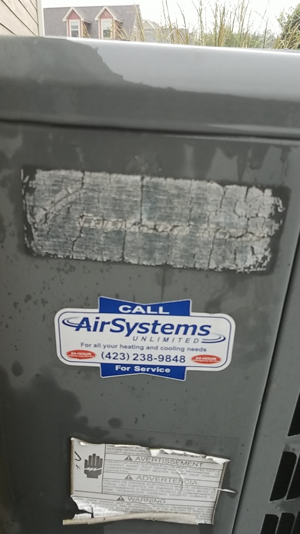 Ooltewah, TN - Service call. Goodman Heat Pump Air Handler repair.