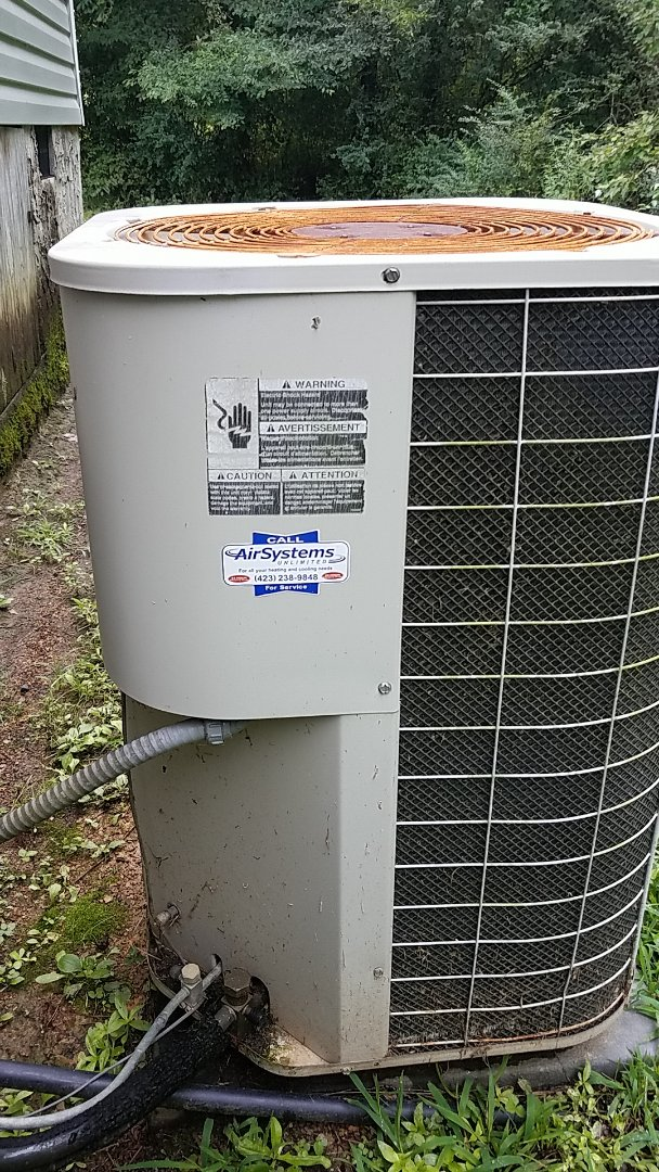 Cleveland, TN - Service Call. Interherm heat pump.