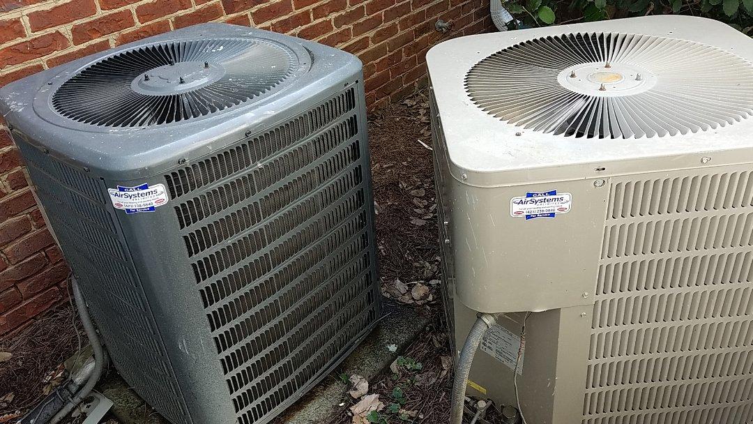 Chattanooga, TN - Maintenance call. Performed maintenance on Goodman AC