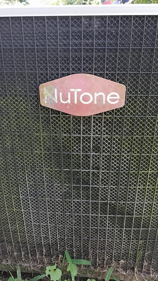 Chattanooga, TN - Service call. Performed repair on Nutone heat pump