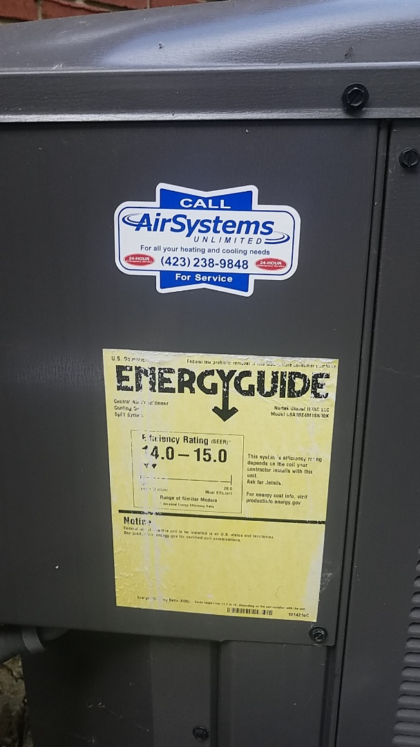 Chattanooga, TN - Service call. Made repair on Maytag Furnace.