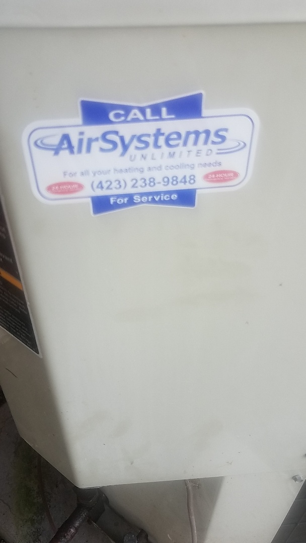 Chattanooga, TN - Service call. Performed service on Nordyne Heat Pump.