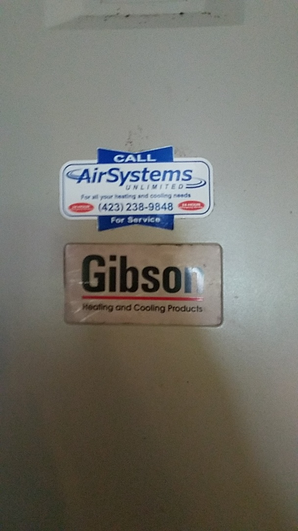 Cleveland, TN - Service call. Performed maintenance on Gibson Heat Pump system.