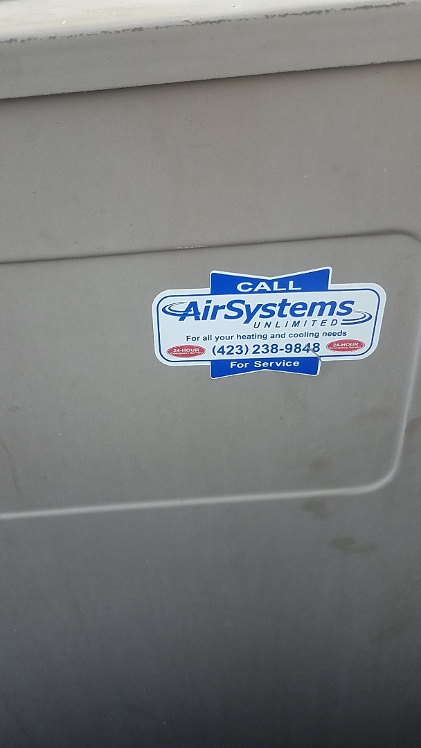 Cleveland, TN - Service call. Performed maintenance on Airease Heat Pump.