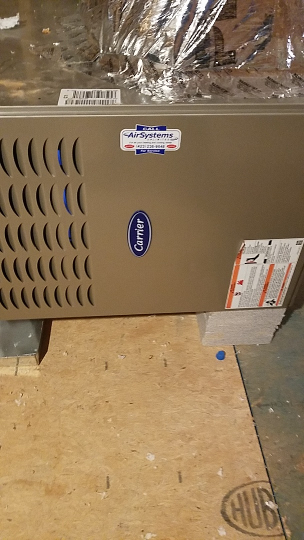 Cleveland, TN - Service call. Performed repair on Carrier furnace