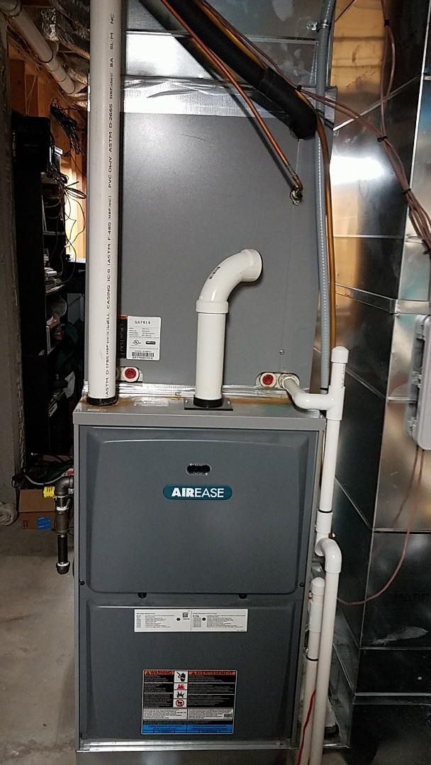 Cleveland, TN - Service call. Performed repair on Airease Furnace.