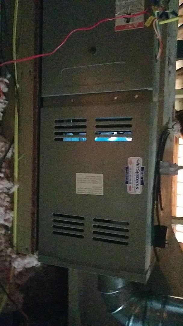 McDonald, TN - Service call. Performed repair on Goodman furnace