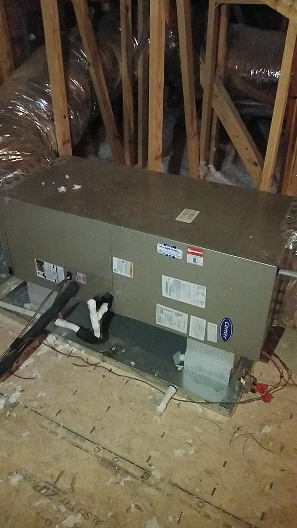 Ooltewah, TN - Service call. Performed maintenance on Carrier Furnaces.