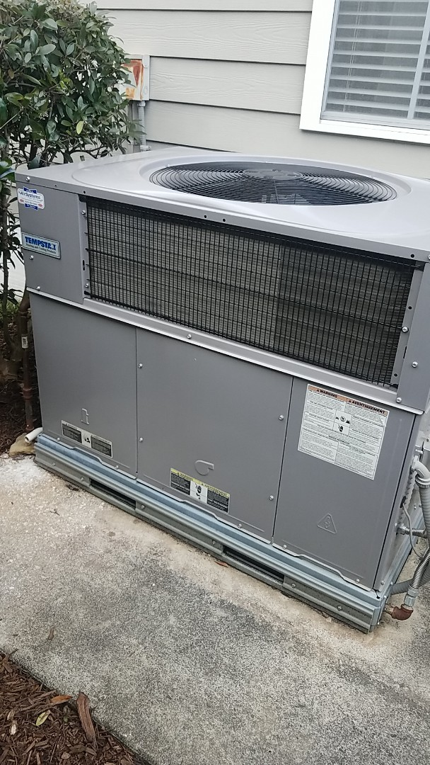Chattanooga, TN - Service call. Performed maintenance on Tempstar Gas Package unit.