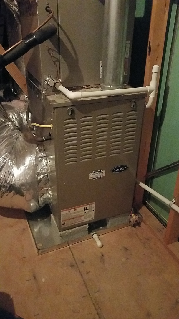 Chattanooga, TN - Service call. Performed maintenance on Carrier Furnaces.