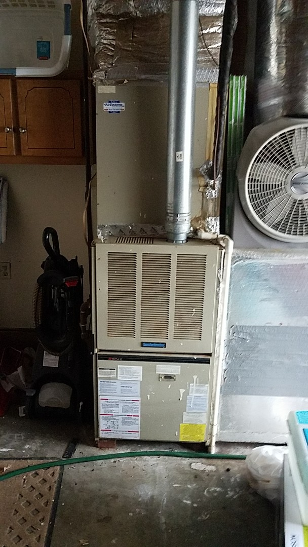 Ooltewah, TN - Service call. Performed maintenance on a Intercity Furnace.