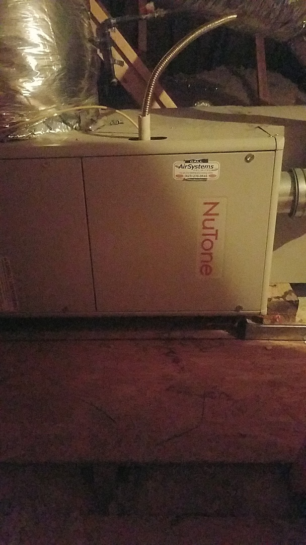 Ooltewah, TN - Service call. Performed maintenance on a Nutone Furnace.