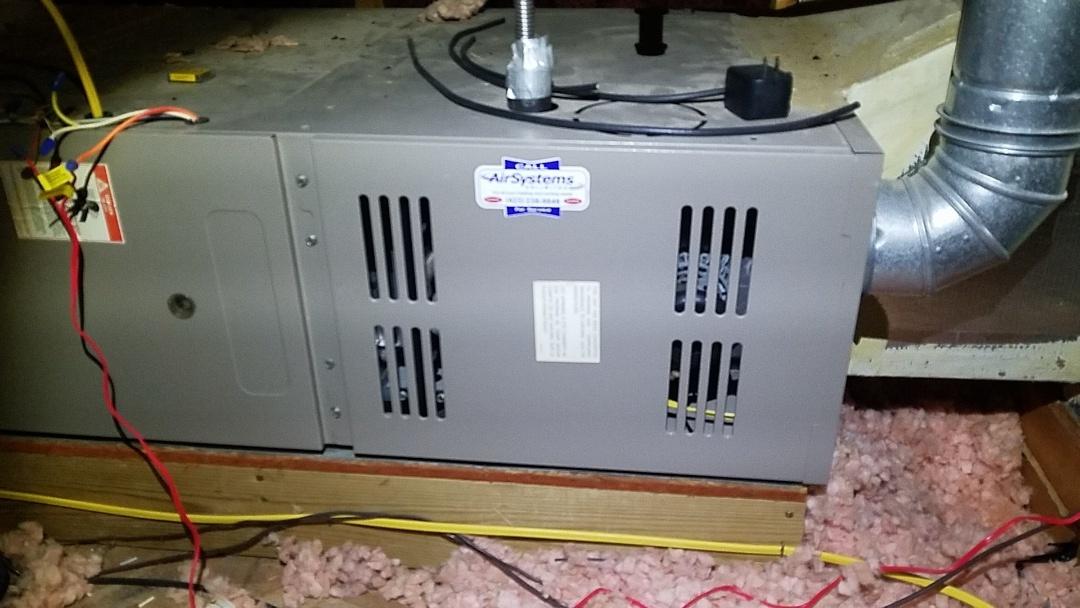 McDonald, TN - Maintenance call. Performed maintenance on Goodman furnace