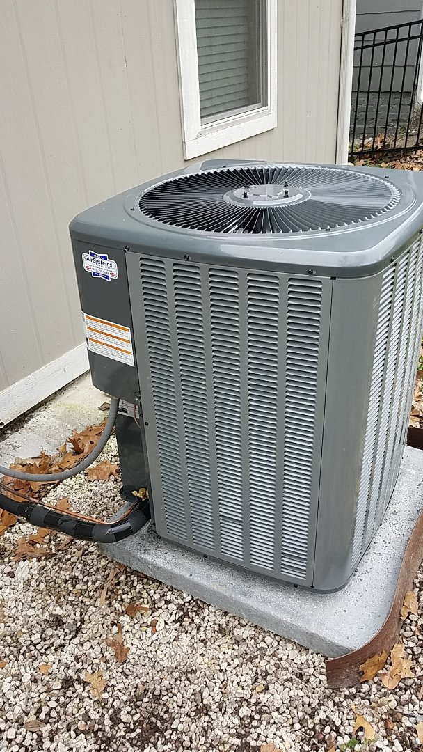 Chattanooga, TN - Installation call. Performed install of Amana gas AC system