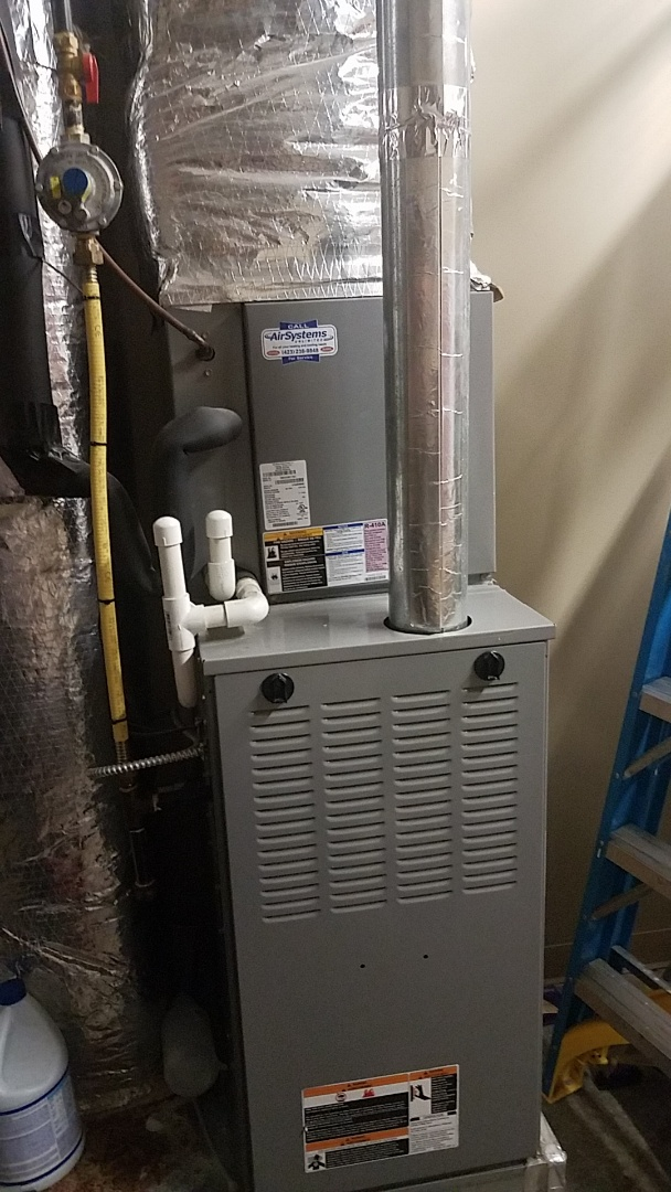 Cleveland, TN - Service call. Performed maintenance on Tempstar Furnace.