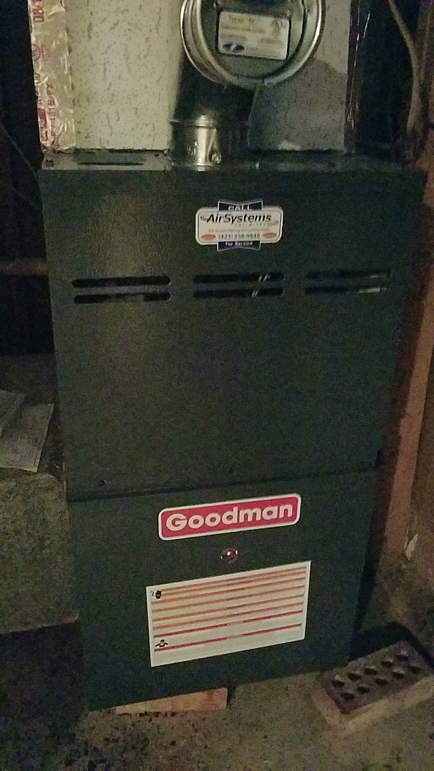 Chattanooga, TN - Service call. Performed repair on Goodman furnace